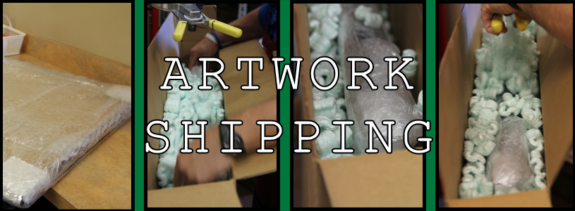 Artwork Shipping | Fort Mill, SC